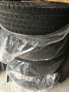 Rims and tire for sprinter 2004/05/06