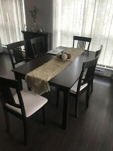 Dinning Table + 6 Chairs