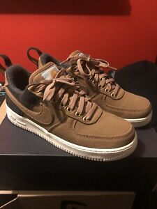 USED Carhart Nike Air Force 1 Size 9.5