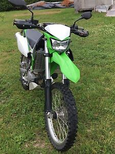 2010 Kawasaki KLX250s big bore 4000$