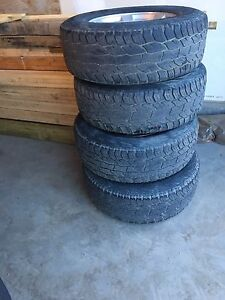"GMC Sierra 1500 17"" rims and tires"