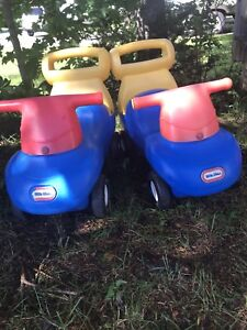 Little tikes cars $10 both