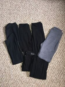 BRAND NEW POLYESTER+COTTON LEGGINGS! GARAGE, OLD NAVY, MESH