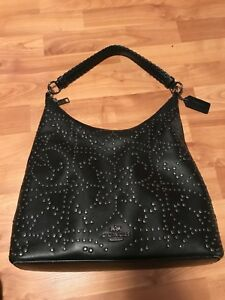 Coach Celeste studded hobo handbag