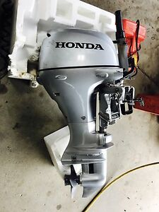 "2016 Honda BF 15 D 15"" Tiller Outboard Warranty Until 2019!"