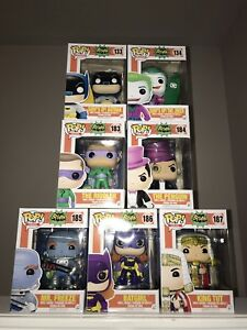 Funko POP! Batman Classic TV Series set