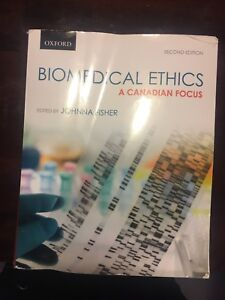 Health care ethics (HSCE2000) and anatomy (ANAT1010) textbooks