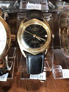 1950's Space age astorex 25 jewel Automatic Watch