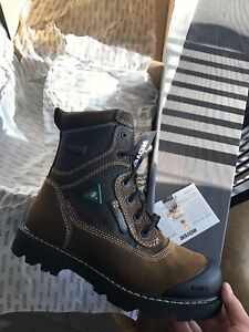 Royer safety shoes / steel toe boots 10