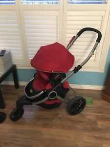 Contours Options LT Tandem Stroller with Car Seat Adapter