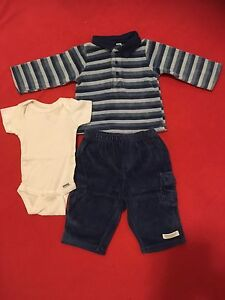 0-3 months boy outfit