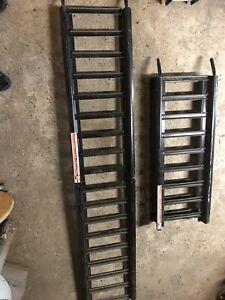 Rampe d'acier neuve pliable, pour trailer
