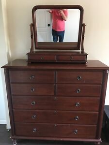 HighBoy Dresser and end tables