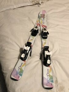 Children's Skis (90) and Boots (19/235) Package