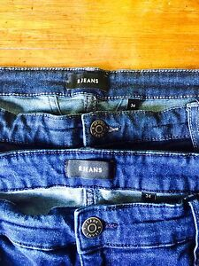 2 Pairs of Size 34 Skinny Jeans for $30