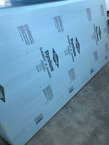 """New 2"""" styrofoam Insulation."""