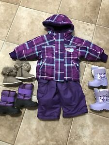 Snowsuit and Winterboots