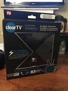 CLEAR TV ANTENNA FREE CABLE