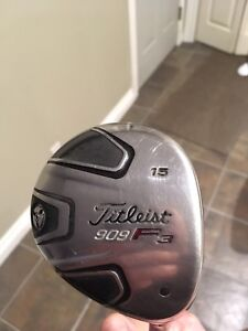 FOR SALE: Titleist 909 F3 fairway woods