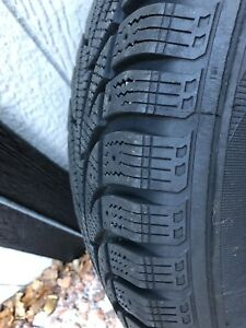 4 winter tires with rims 235/70R16/ 106S