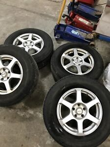 Ford Escape A/S rims and Michelin tires