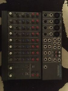 Compact mixer and rack gear
