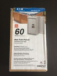 Hot tub panel 60 amp brand new - Reduced!!!