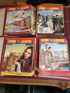 100 Vintage Look and Learn  Magazines
