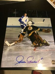 Boston Bruins Gilles Gilbert Autographed picture