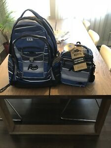 Roots backpack with lunch bag brand new