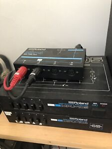 Vintage Roland midi switch/thru boxes