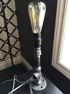 Vintage Industrial style lamp for sale!