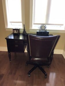 BOMBAY Desk and Chair for sale