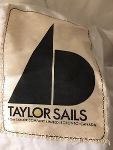 Four Used Sails - Full Set from 24' Bluenose