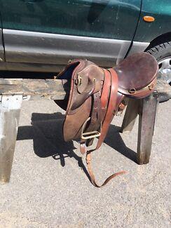 Semi stock saddle