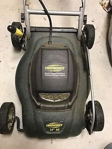 Yardworks corded lawn mower