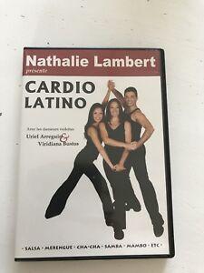 DVD d'exercices CARDIO LATINO