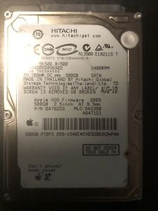 Hitachi Travel Star 5K500.B  500GB,5400RPM Laptop HD