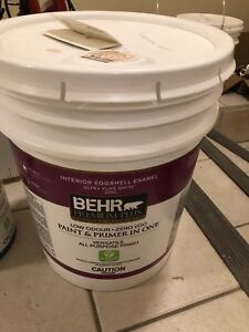 Brand New Pail Of Paint