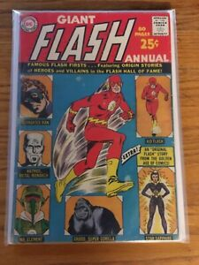 The Flash annual #1 first printing