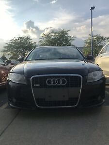 Audi A4 2008 S-Line 2.0T Quattro Automatic AWD Engine needs work