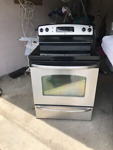 Can DELIVER GE SET: perfect STOVE/Over Range Microwave