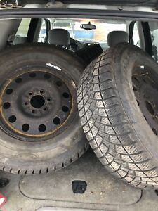 Ford f150 winter rims and tires