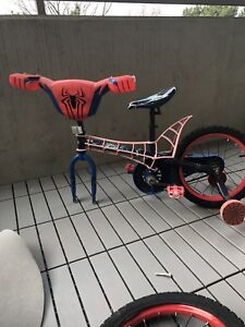 Huffy 16 inch boys bicycle. Spider-Man.