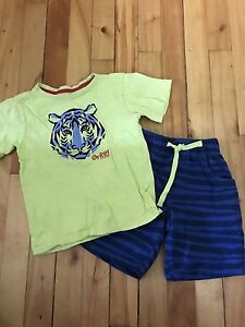 Boy Summer Outfit - Size 4T