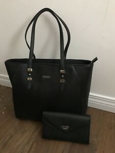 Guess bag with matching wallet.