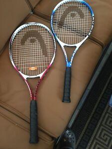 head tornado tennis racquets