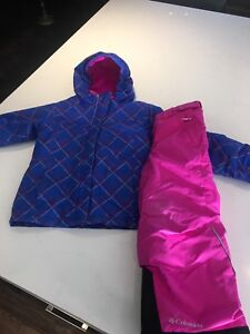 Columbia girls winter Jacket and snow pants