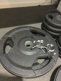 Olympic Bar and Weight