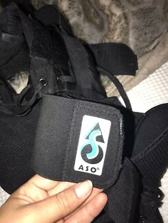 ASO Ankle Braces Black